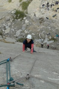 Makhbuba Aslanova. In club since 2012. Mountaineering.Махбуба Асланова.В клубе с 2012 года.Горный туризм.